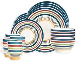 Pfaltzgraff Morocco 16-Piece Stoneware Dinnerware Set for 4