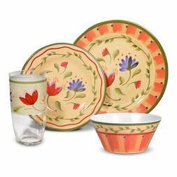 Pfaltzgraff Napoli Melamine Dinnerware Set