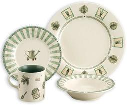 Pfaltzgraff Naturewood 16-Piece Stoneware Dinnerware Set  Ne
