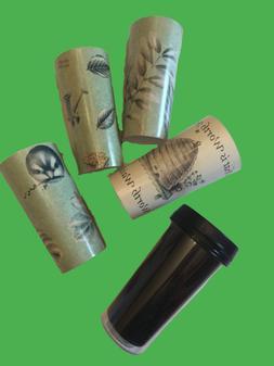Pfaltzgraff NATUREWOOD Travel Coffee Cup Mug w/ 4 Designs *