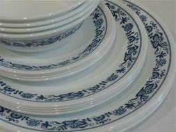 NEW 16-pc Corelle OLD TOWN BLUE DINNERWARE SET Dinner Lunch