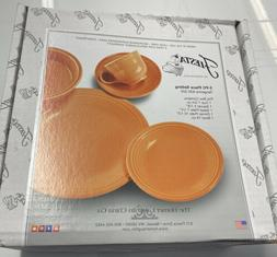 NEW Fiesta 5-Piece Place Setting TANGERINE NEW IN BOX RETAIL