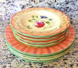 NEW 8 Piece Pfaltzgraff Napoli Dinnerware - 4 dinner plates/