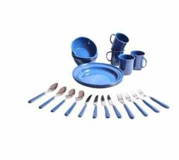 New Unica Camping Dinnerware Blue Enamel **YOU CHOOSE**