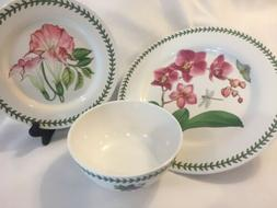 NEW Portmeirion Exotic Botanic Garden Melamine Dish Set 12 P