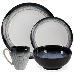 NEW Denby Halo Tableware Set 16pce