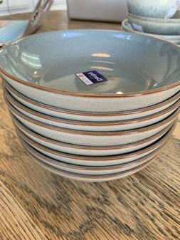 NEW DENBY HERITAGE TERRACE SET OF 8 PASTA BOWLS Dishes
