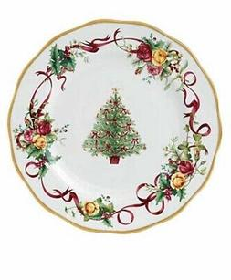 NEW Royal Albert OLD COUNTRY ROSES Christmas Tree DINNER PLA