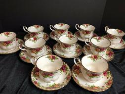 NEW Royal Albert Old Country Roses Cup & Saucer Bone China