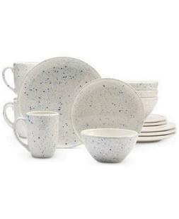 New Versailles Speckle 16 pc Place Setting Dinnerware Set, N
