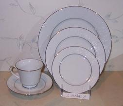 NEW Noritake TAHOE 5 Pcs Place Setting  Dinner Salad Bread C