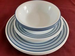 Corelle Newport 12 Piece Dinnerware Set. ExcellentCondition!