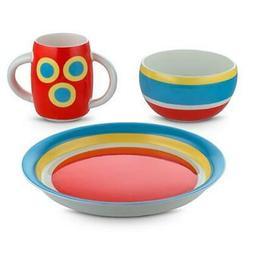 Alessini Con-centrici 3-Piece Child's Dinnerware Set by Ales