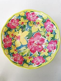 Nicole Miller Home Lightweight Tropical Hibiscus Flower Prin