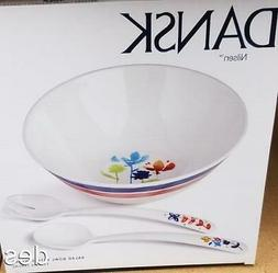 nilsen 3 piece salad bowl set