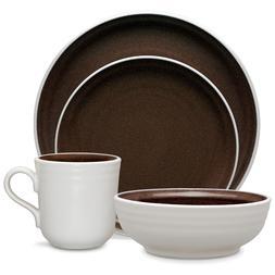 Noritake Colorvara Chocolate 32Pc Dinnerware Set, Service fo