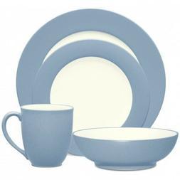 Noritake Colorwave Ice Rim 32Pc Dinnerware Set, Service for
