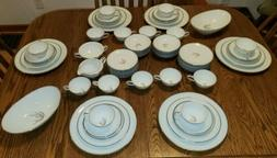 NOS NEW 70 pc Noritake Candice 5509 dinnerware set for 6, 2