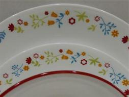NW 12-pc Corelle FEBE DINNERWARE SET Dinner Lunch PLATES 18-