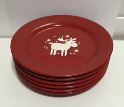 "NWT Set of 6 Waechtersbach EMMA Salad Plates 8 1/4"" Moose Sn"