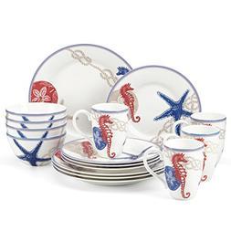 Oceanside 16-piece Dinnerware Set by Lenox
