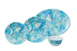Octopus 13 piece Dinnerware Box Set w/Platter