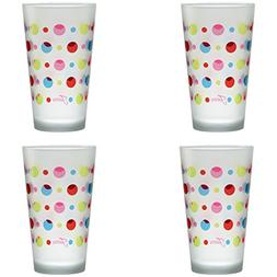 Officially Licensed Fiesta Multicolor Dots 16-Ounce Frosted
