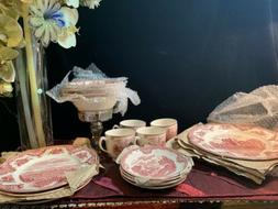 Johnson Brothers Old Britain Castles Pink Dinnerware 10-Inch