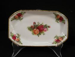 """Royal Albert Old Country Roses  4"""" x 6"""" Plate/Bowl Sandwich"""