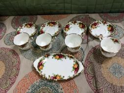 Royal Albert Old Country Roses 9 Piece Hostess Set