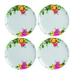Royal Albert Old Country Roses Set of 4 Melamine Dinner Plat