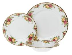 Royal Albert Old Country Roses 12-Piece Entertainment Set.
