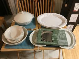 Mikasa & others Serving Set - platters, bowls, soup tureen