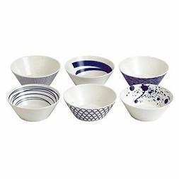 """Royal Doulton 40019363 Pacific Mixed Patterns Bowls , 6.2"""","""