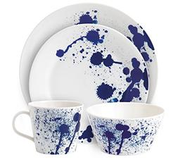 Royal Doulton Pacific 4 Piece Set Splash Dinnerware Set, Mul
