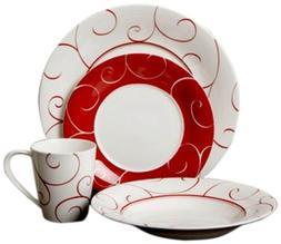 Panache Rouge 16Pc Dinner Set