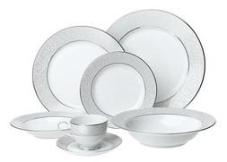 Mikasa Parchment Fine China 42-Piece Dinnerware Set, Service