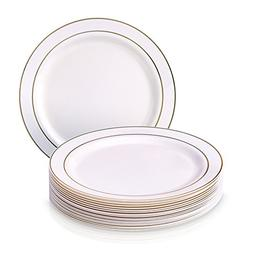Party Disposable 20pc Dinnerware Set | 20 Side Plates | Heav