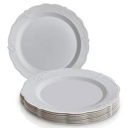 PARTY DISPOSABLE 20 PC DINNERWARE SET | 20 Dinner Plates | H