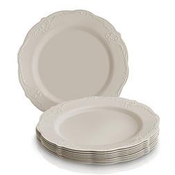 PARTY DISPOSABLE 20 PC DINNERWARE SET | 20 Dessert Plates |