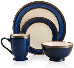 pfaltzgraff everyday catalina cobalt 16 piece dinnerware