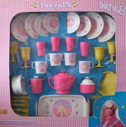 Barbie CHILD SIZE Picnic & Dinner Wear Playset 46 PIECES w D