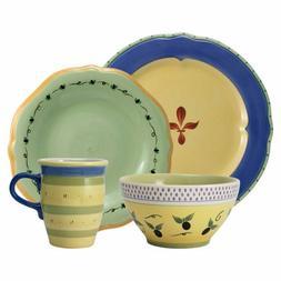 Pfaltzgraff Pistoulet Blue Dinnerware Set