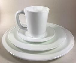 Plain & Simple - Bread / Salad / Dinner Plates & Coffee Mug