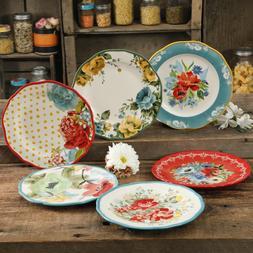 The Pioneer Woman Plate Set 6 Piece Floral Flowers Dinnerwar