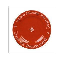 Waechtersbach Plate You Are Special Today Cherry Red Brand N