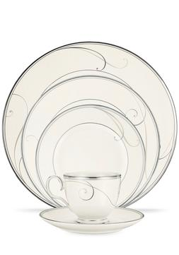 Noritake Platinum Wave 5Pc Place Setting, Brand new still in
