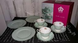 Royal Albert Polka Rose 12-Piece Set, A Macy's Exclusive Sty