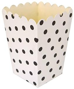Just Artifacts Popcorn Boxes  - Polka Dot Pattern - Color Bl