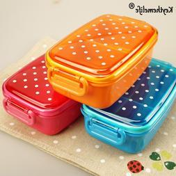Keythemelife Portable Lunch boxs <font><b>Polka</b></font> <